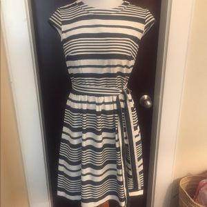 Betsy Johnson striped summer dress
